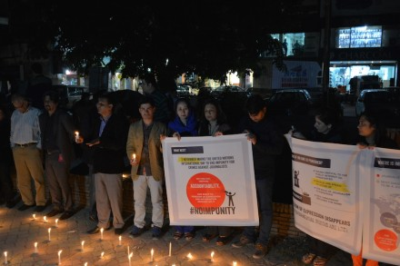 In remembrance: Civil society and journalisms mark International Day to End Impunity