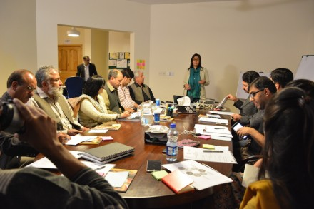 Media Matters for Democracy hosts a Design Thinking Workshop to finalise 'Muhafiz'