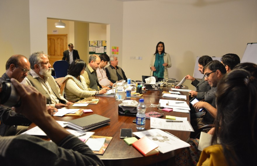 Media Matters for Democracy hosts a Design Thinking Workshop to finalise 'Muhafiz', a digital solution for protection of journalists