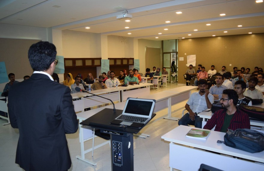 Media Matters for Democracy hosts talks in various public and private universities to highlight key elements of the oppressive Prevention of Electronic Crimes Act 2016