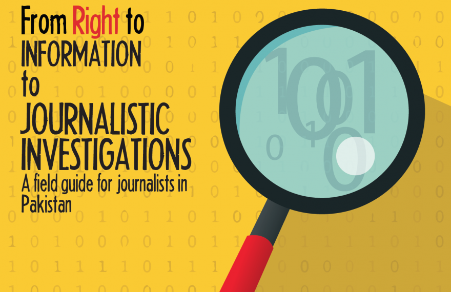 Media Matters for Democracy launches 'From Right to Information to Journalistic Investigations', a specialised guidebook to enable journalistic use of RTI