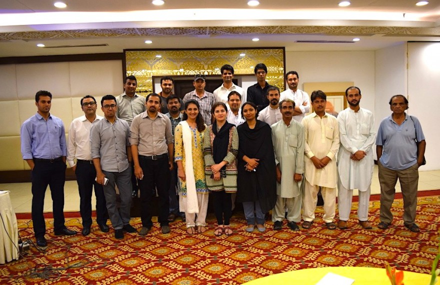 Muhafiz, Pakistan's first digital threat reporting system for journalists and bloggers, goes live!