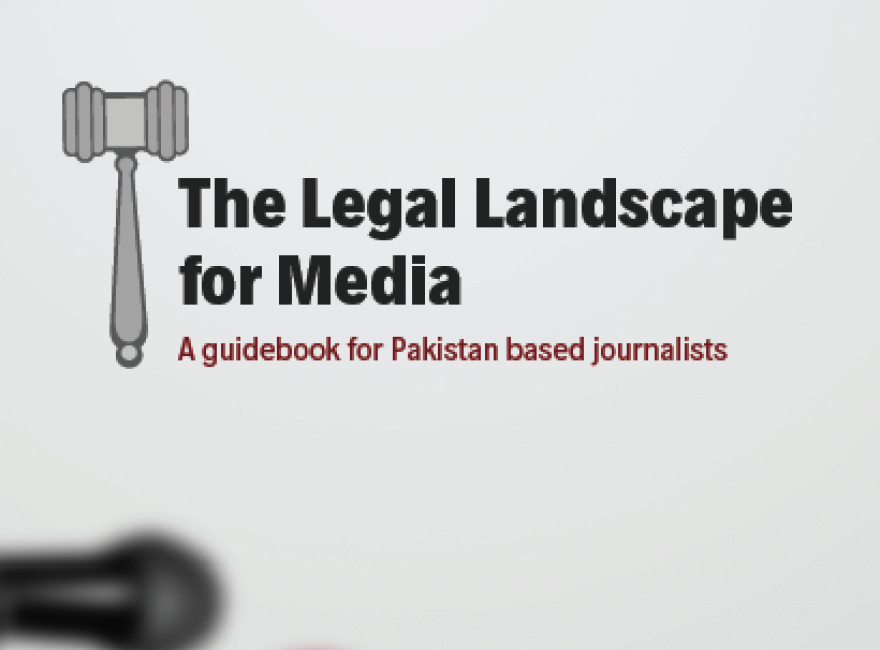Media Matters for Democracy launches a new guidebook on media laws in Pakistan