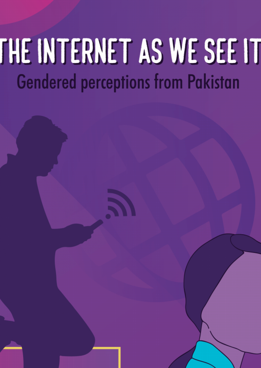 The Internet As We See It: Gendered Perceptions from Pakistan
