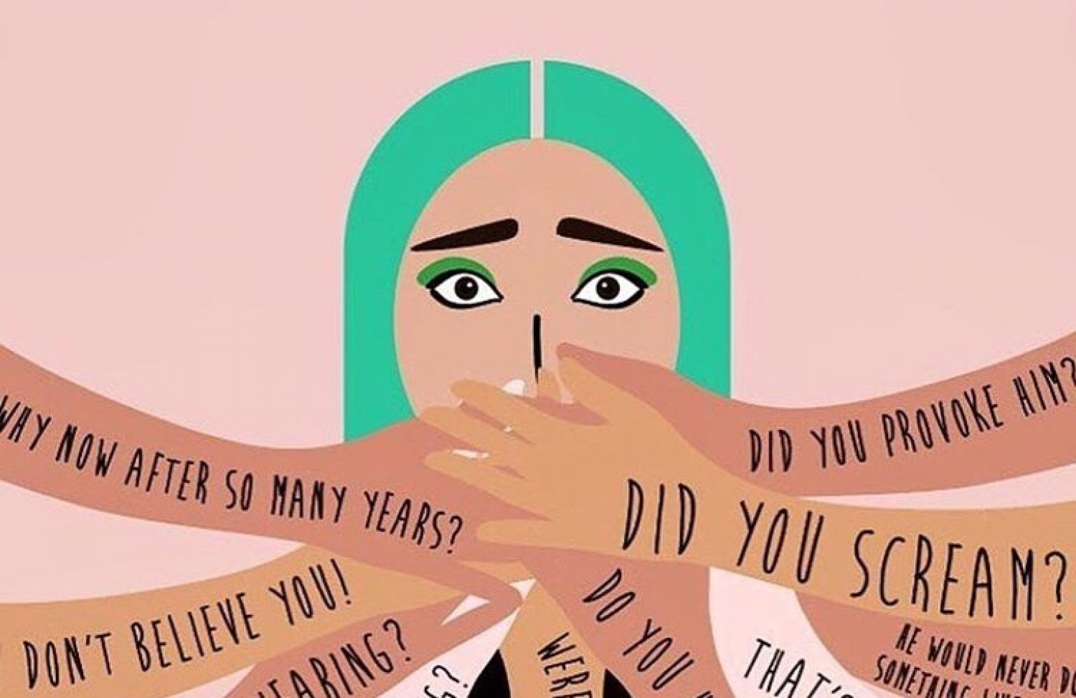 Media Matters for Democracy contributes to the global #WhyIDidn'tReport, a campaign to collate and highlight stories of abuse victims for #16DaysOfActivism