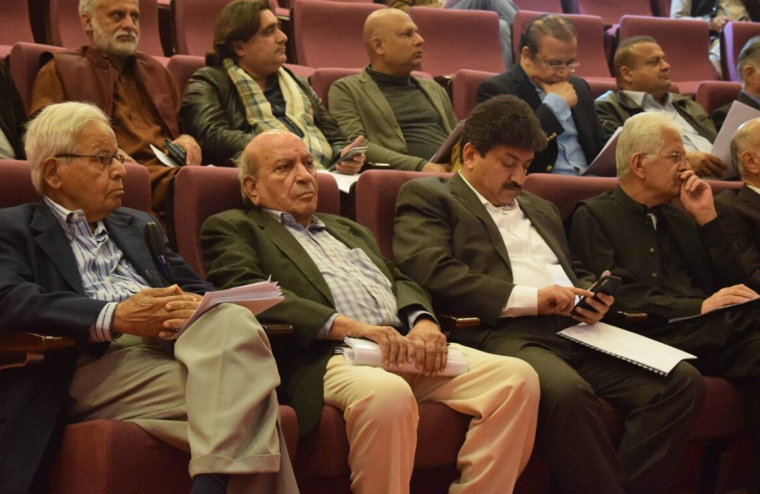 Media Matters for Democracy, Pakistan Federal Union of Journalists and Parliamentary Commission for Human Rights conducts a national conference on freedom of expression and related laws