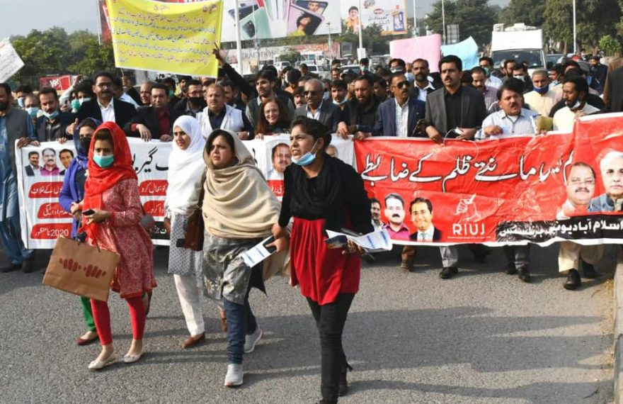 Media Matters for Democracy endorses Pakistan Federal Union of Journalist's demands for free press; calls upon the governments to uphold media freedoms