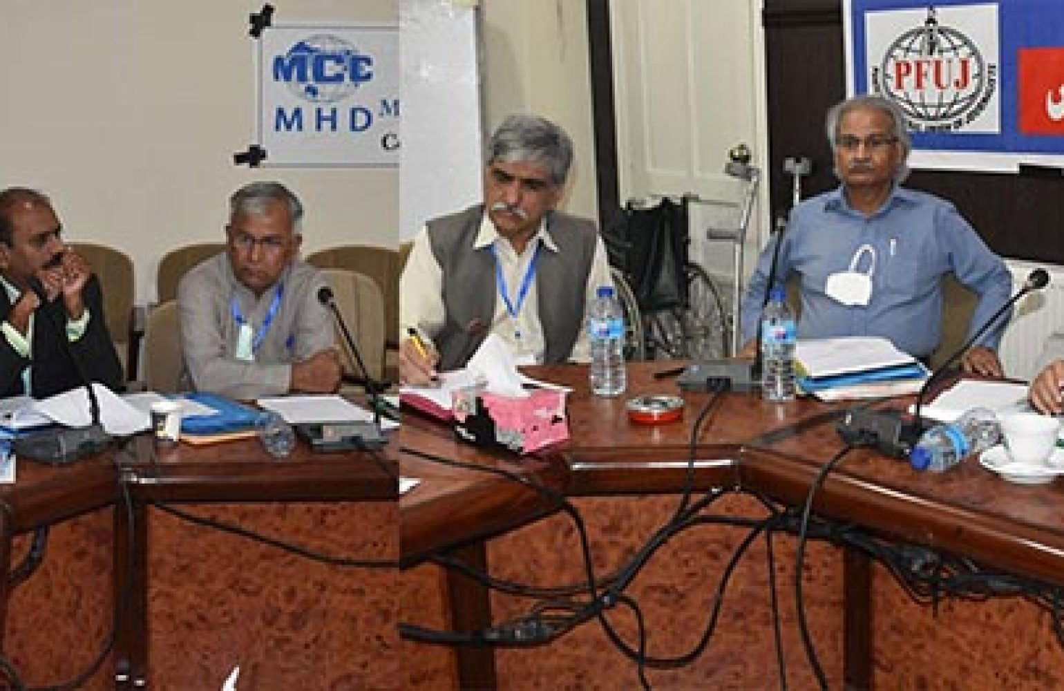 Media Matters for Democracy stands in solidarity with the Federal Executive Council of the Pakistan Federal Union of Journalists and endorses the council's recent demands for press freedoms