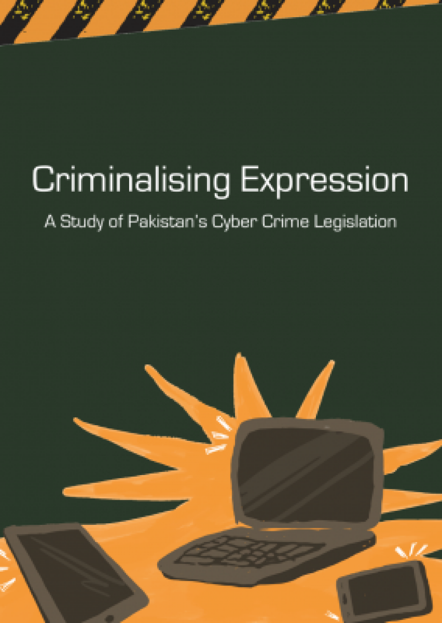 Criminalising Expression: A Study of Prevention of Electronic Crimes Act 2016