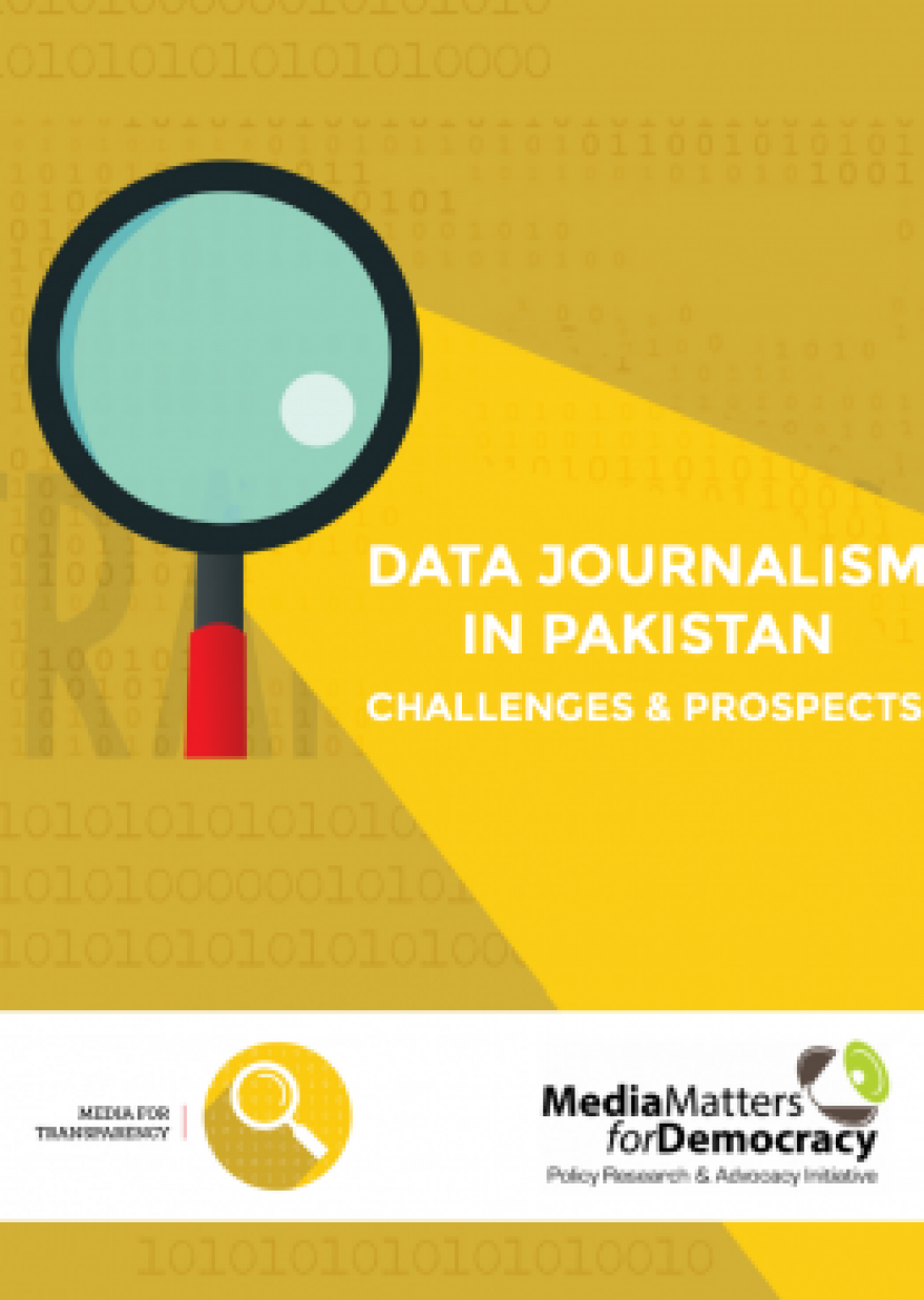Data Journalism in Pakistan: Challenges and Prospects