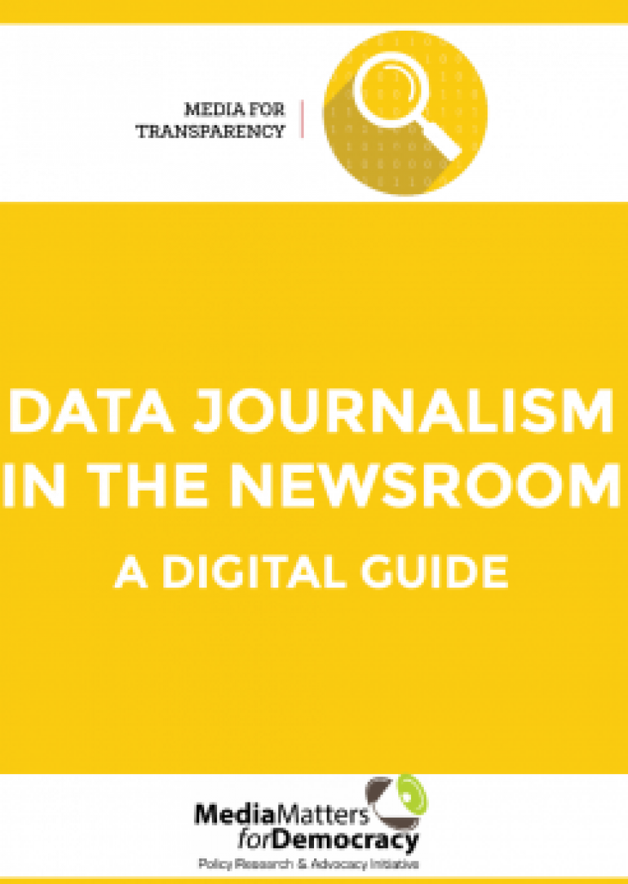 Data Journalism in the Newsroom: A Digital Guide