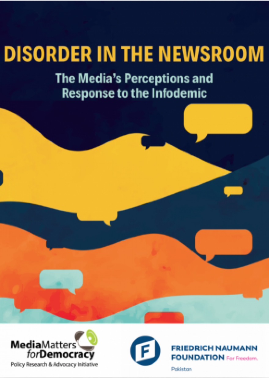Disorder in the Newsroom: Media's Perceptions and Response to the 'Infodemic'