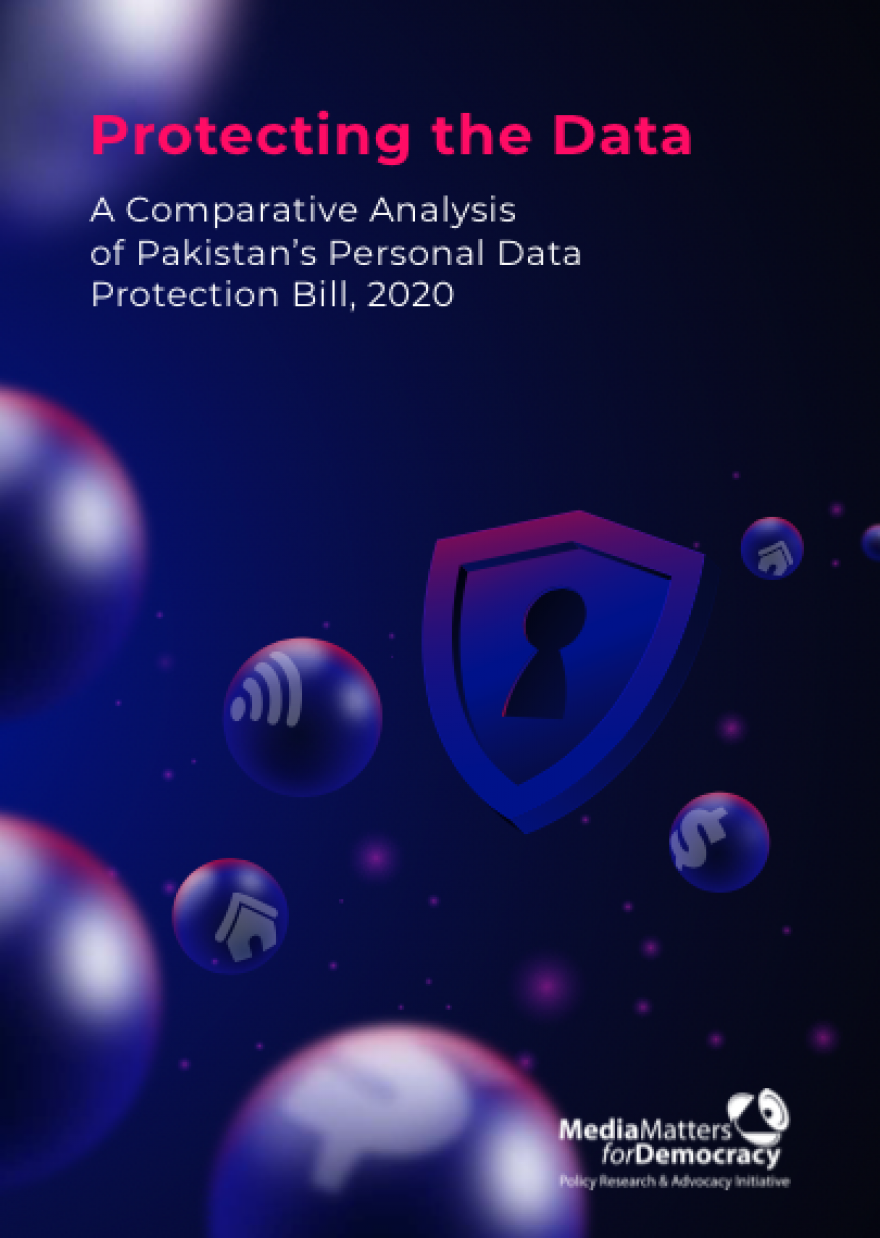 Protecting the Data: A Comparative Analysis of Pakistan's Personal Data Protection Bill. 2020